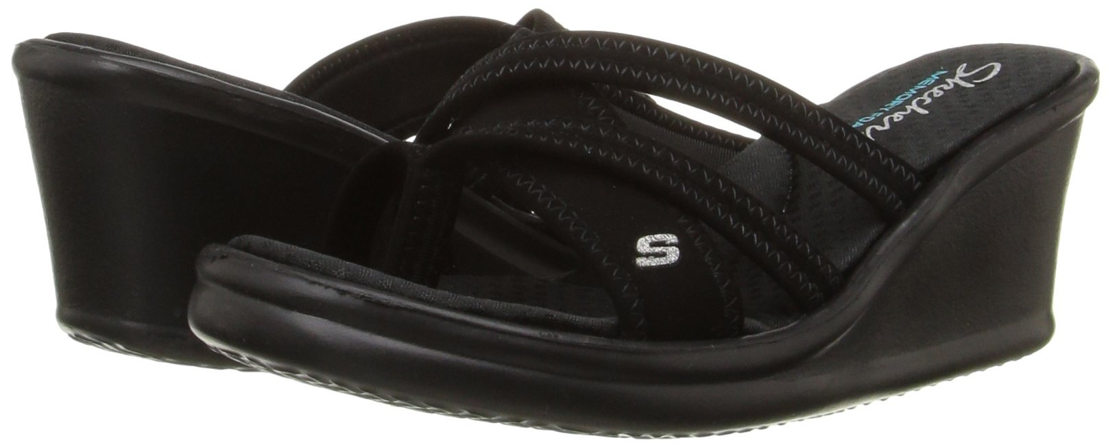 Skechers Cali Women s Rumblers - Young At Heart Wedge Sandal 23ce6b7c8