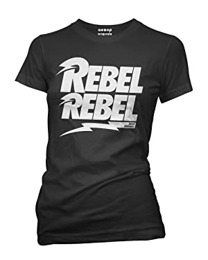 Aesop Originals Women's Rebel Rebel T-Shirt L Black