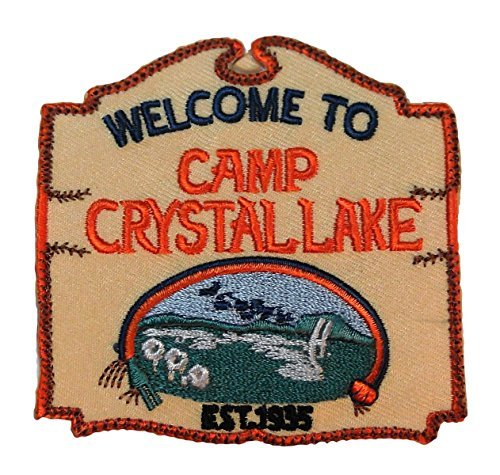 Friday the 13th Camp Crystal Lake Iron-on/Sew-on Embroidered PATCH -