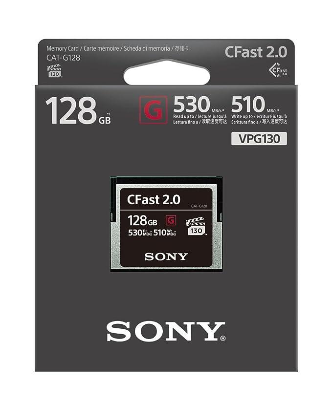Resultado de imagen para Sony 128GB CFast 2.0 G Series Memory Card