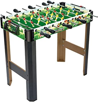 JKLL Mesa de futbolín de futbolín.Este Juego de Bar de fútbol de Mesa for 2 Jugadores Premium con piernas Proporciona una diversión Deportiva Garantizada en Interiores: Amazon.es: Deportes y aire libre