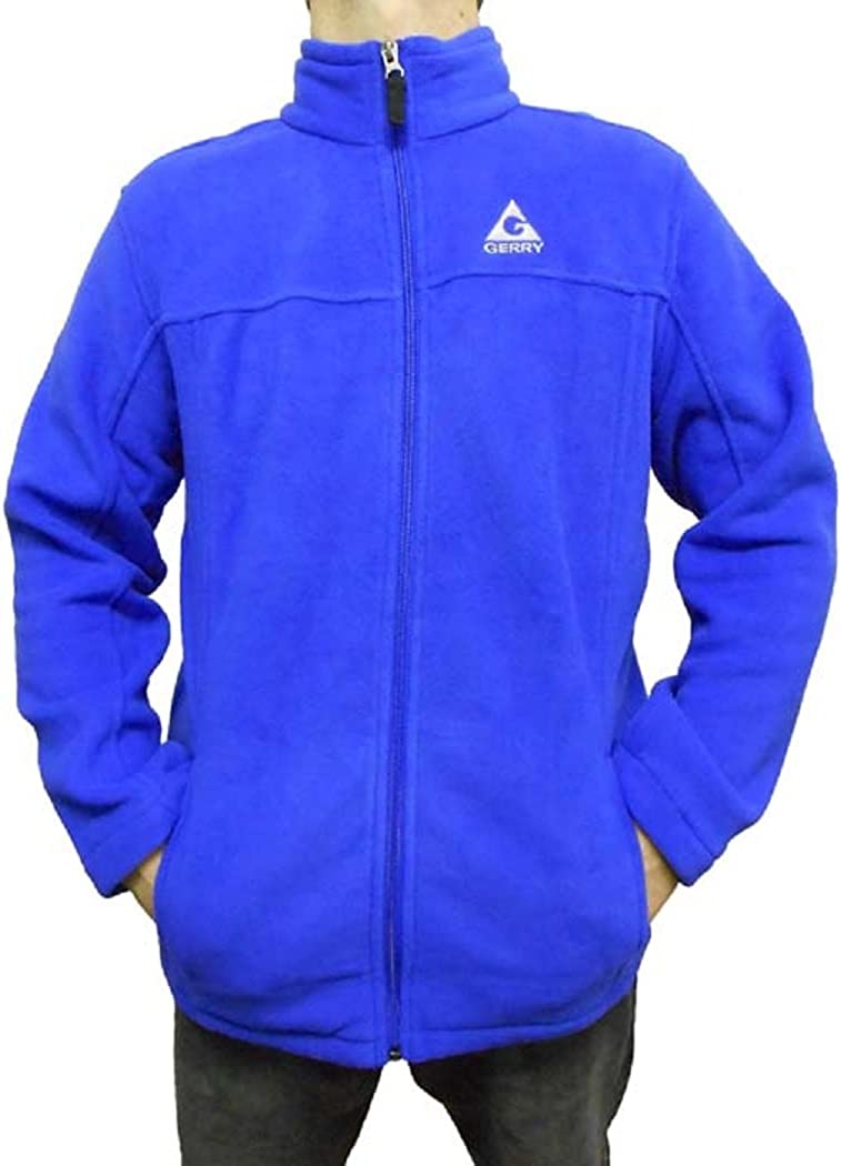 Gerry Ribbed Youth Kids Girls Full Zip Jacket Long Sleeve S//M//L Blue