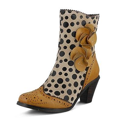 L`Artiste Womens Simonetta Blue Multi Boot - 41