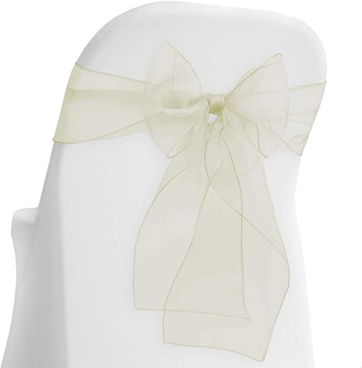 10 PCS WHITE WEDDING PEW BOWS Simple elegant affordable best bows for the price