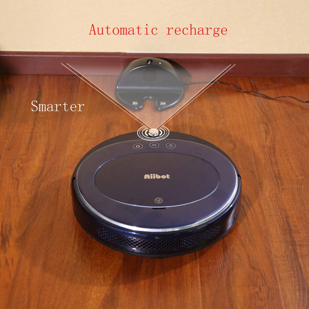 Sonmer Aiibot T360 Smart Vacuum Cleaner Sweeping Robot, Gyro Navigation Self-recharge 4 Cleaning Modes-Blue,With Remote Control by Sonmer (Image #7)