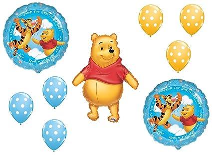 Amazoncom Dalvaydelights Winnie The Pooh Baby Boy Shower Welcome