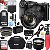 Sony Alpha a6000 24.3MP Interchangeable Lens Camera Body only + 16-70mm Mid-Range Zoom Lens + Accessory Bundle