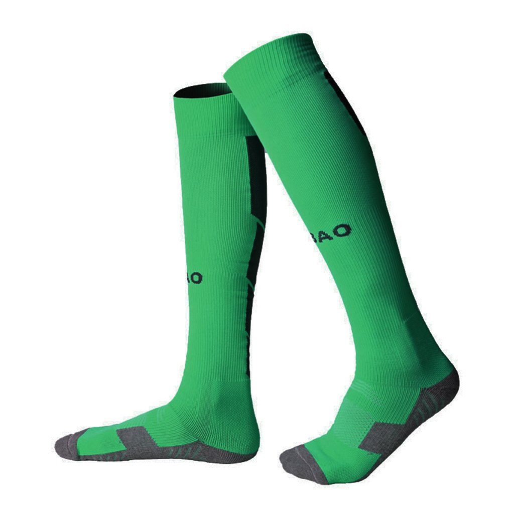 Soccer Socks Men / Women Adult Knee High Compression Sports Football Socks 1 / 4 Pack