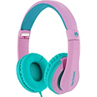 RockPapa I20 On Ear Headphones Foldable with Microphone, Earphones Adjustable for Kids Childrens Adults, iPhone iPad…