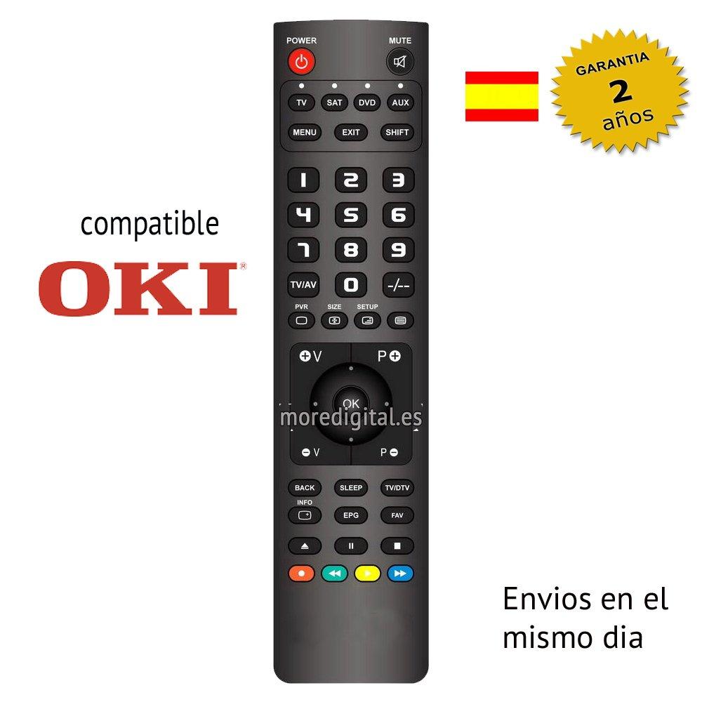 Mando TV Oki B32D-LED1: Amazon.es: Electrónica