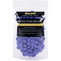 BlueZoo Depilatory Hard Wax Beans - 100 gms - Lavender
