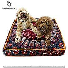 Indian Bohemian tapestry, square meditation cushion, boho floor cushion, handmade pillow insert, boho seating pouf ottoman, indian pillow shams, boho mandala dog bed bohemian mandala floor pillow