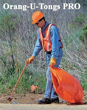 """40/"""" Orang-U-Tongs Standard Long Litter Pick Up Tool"""