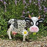 Smart Garden Outdoor Solar LED Garden Light Daisy Cow Design, Changing Colour