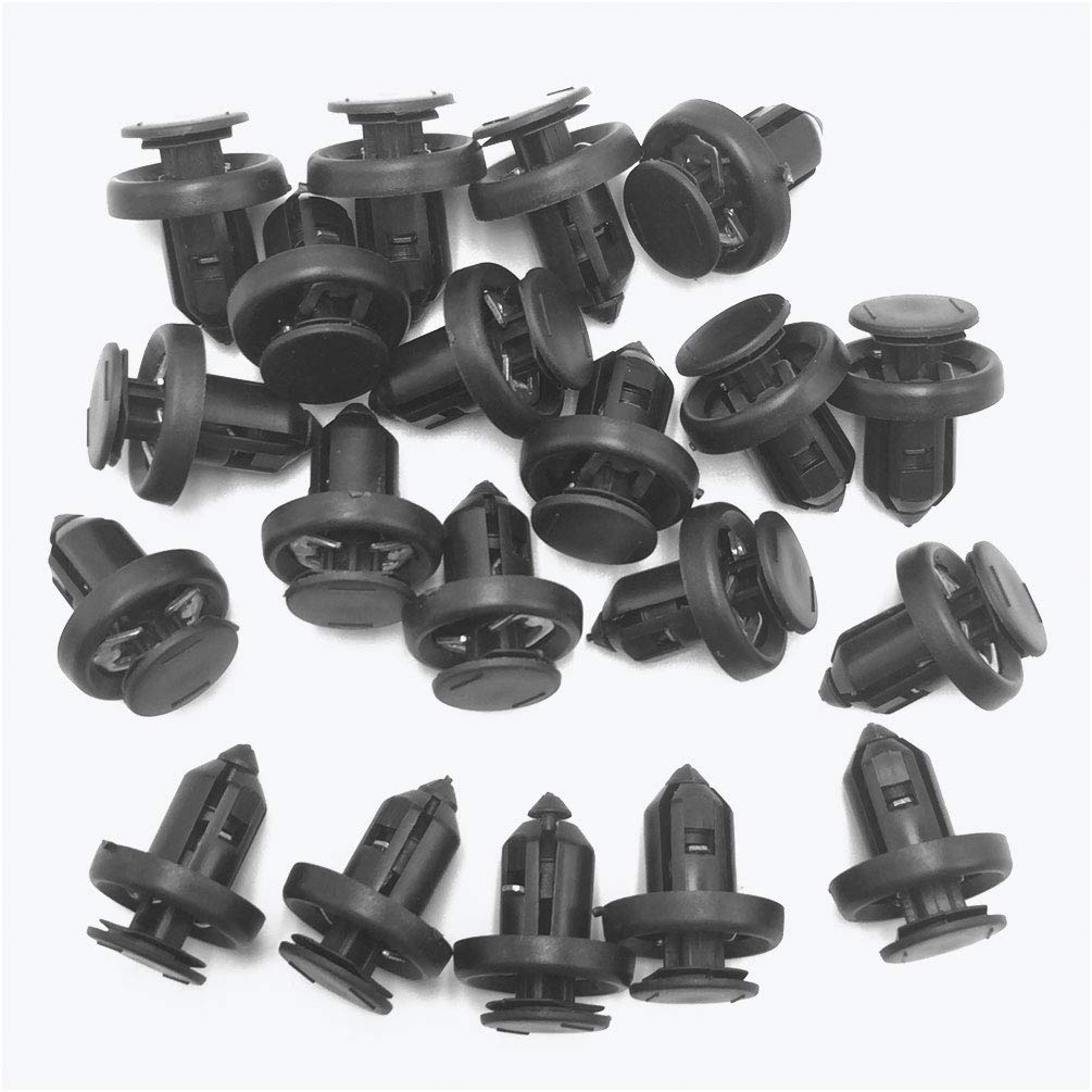 Lantee 10 Pcs Bumper Clips /& Splash Shield Fasteners w//Metal Insert Replace Honda 91505-S9A-003 Fit for Accord Civic Crosstour CR-V CR-Z Element Fit HR-V Insight Odyssey Pilot Ridgeline