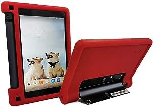 MingShore Rugged Case for Lenovo Yoga Tab 3 8 YT3-850F YT3-850M YT3-850L 8 inch Tablet, Kid Friendly Silicone Cover fit Lenovo Yoga Tab 3 HD 8