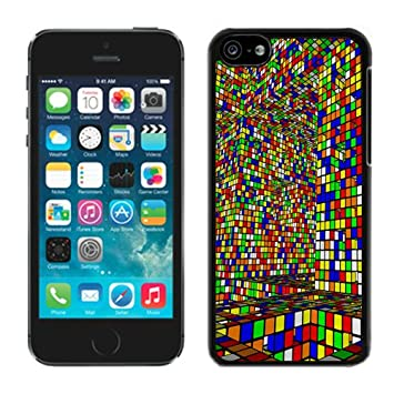coque iphone 5 rubik s cube