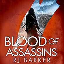 Blood of Assassins: The Wounded Kingdom, Book 2 Audiobook by RJ Barker Narrated by Joe Jameson