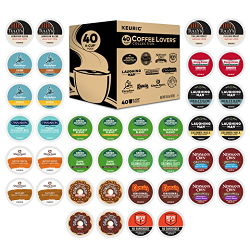 Keurig Coffee Lovers' Collection Sampler Pack, Single Serve K-Cup Pods