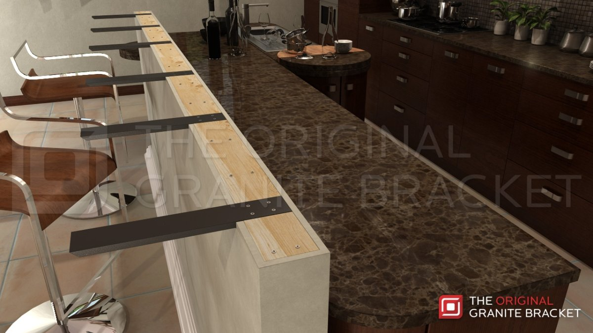 img aaron hidden j steel supports with countertop wood bars support