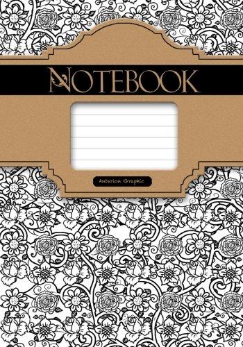 Download Notebook, Ornament 7 x 10, 50 Sheet: Ornamental Classic Notebook ebook