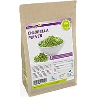 Chlorella Pulver 500g   Super-Alge gemahlen im Zippbeutel   1er Pack (500g)   Premium Qualität