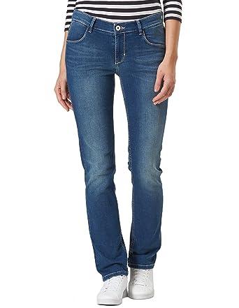 f9caa4c0b3f5 Pioneer - Regular Fit - Damen 5-Pocket Jeans in Blau, Sally (3290 ...