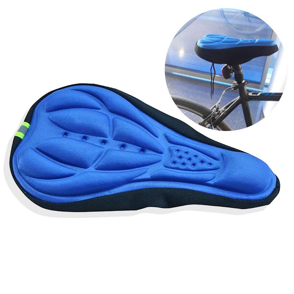 Xiton 1 PC Gel Asiento De Bicicleta 3D MáS Grueso Silicona CojíN ...