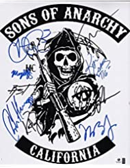 Sons Of Anarchy SIGNED RP cast show photo #2 Hunnam + 8 !