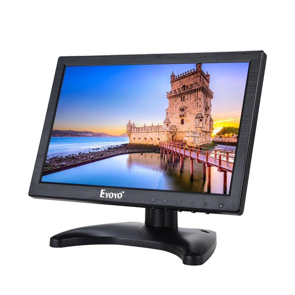 Eyoyo 10'' IPS LCD HD Camera Video Screen Monitor HDMI VGA AV BNC Banking DVD PC (1280x800)