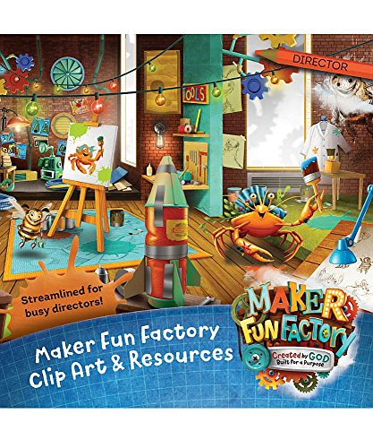 Maker Fun Factory Clip Art & Resources CD (Group Easy Vbs -