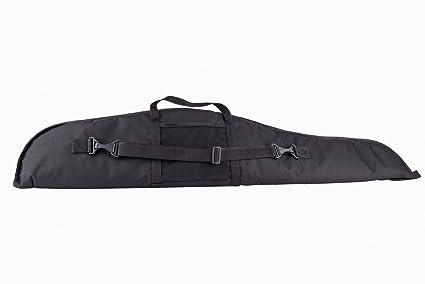Housse pour arme avec lunette 15//1 Fourreau de transport pour carabine 120cm Noir