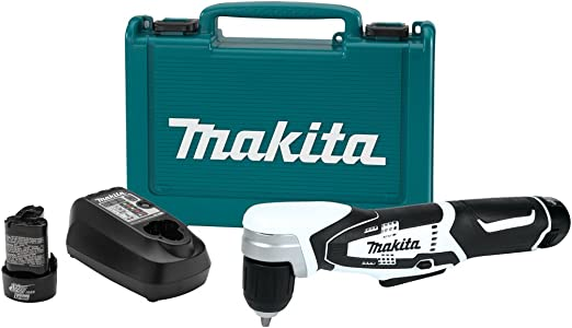 Makita Makita AD02W 12V max Lithium-Ion Cordless 3 8 Right Angle Drill Kit