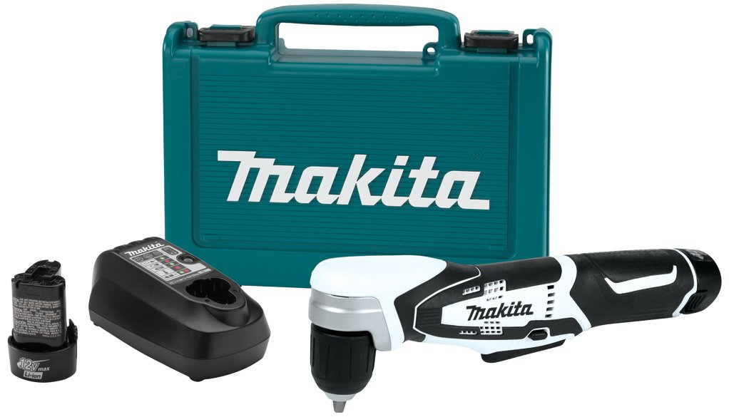 Makita AD02W 12V max Lithium-Ion Cordless 3/8'' Right Angle Drill Kit by Makita