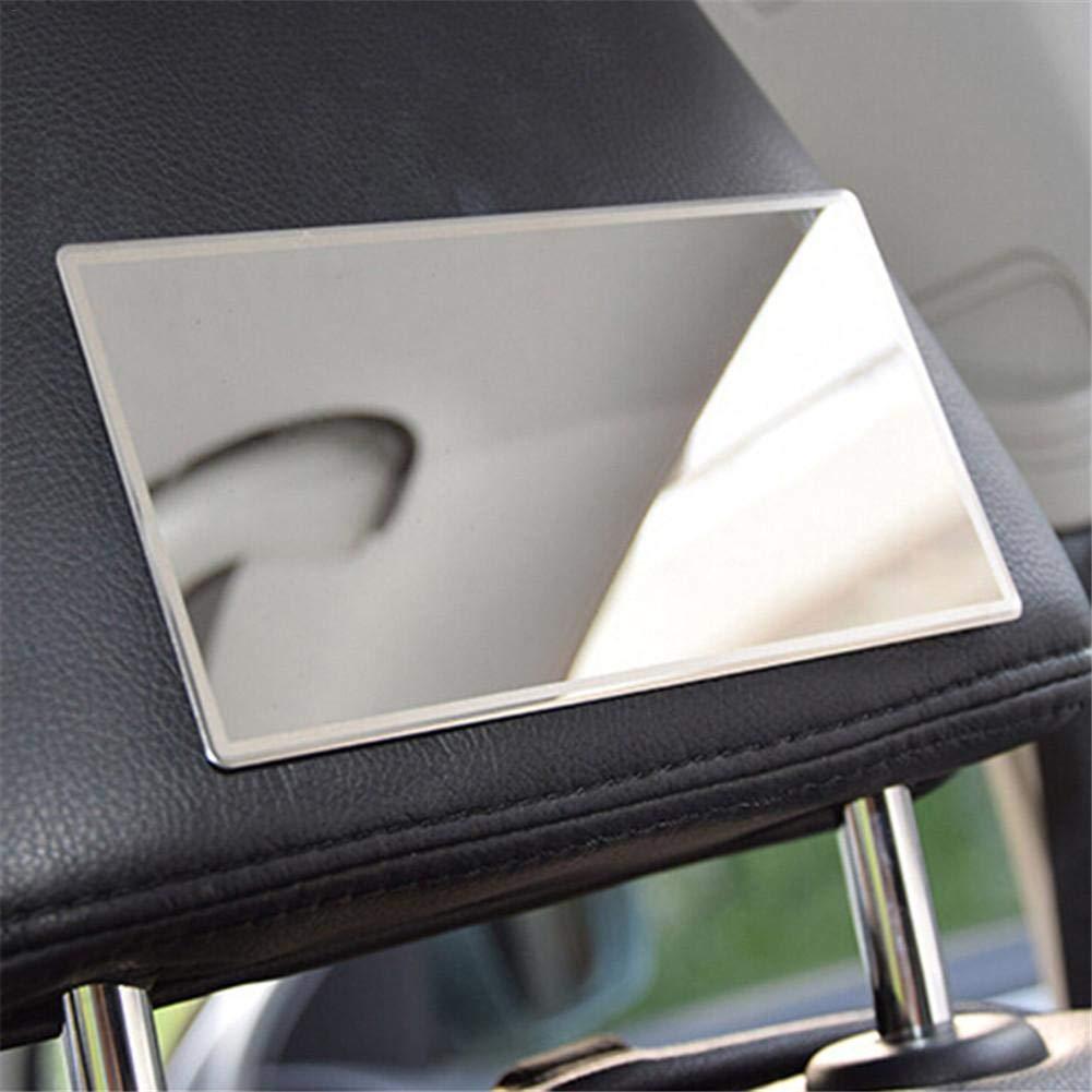 Sammlung geeignet f/ür Auto Spiegel f/ür Sonnenblende 15 x 8 cm innen aus Edelstahl SinceY Schminkspiegel f/ür Auto Make-up