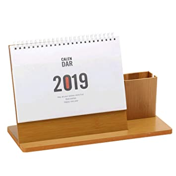 Amazon.com: Migavan Calendario de escritorio 2019 ...