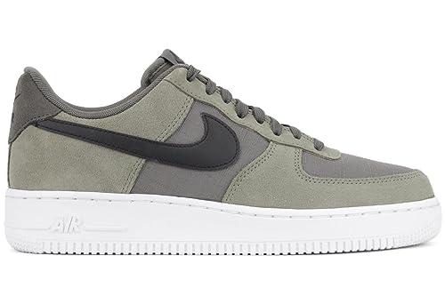 Nike Air Force 1 Salvia Zapatillas De Hombre - Hombre, River Rock/Negr-JD STN-Flsh LM, 42 EU/7.5 UK: Amazon.es: Zapatos y complementos