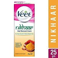 Veet Nikhaar Hair Removal Cream for All Skin Types - 25 g