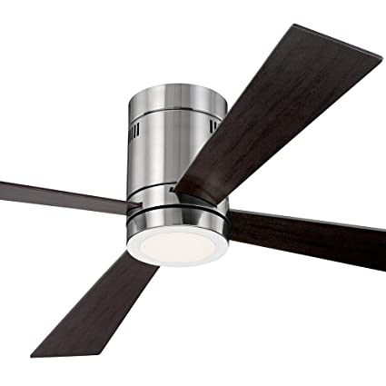 52 casa vieja revue brushed nickel led ceiling fan amazon 52quot casa vieja revue brushed nickel led ceiling fan aloadofball Choice Image