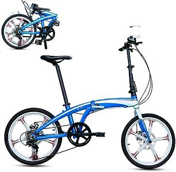 SYCHONG 20 Pulgadas Plegable Bicicleta Adulta De Aleación De ...