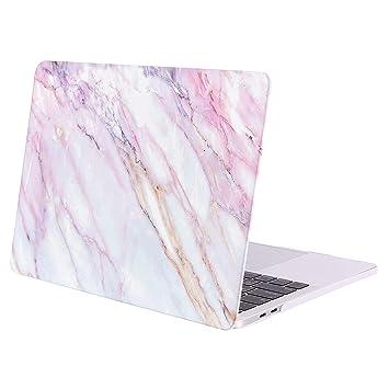 MOSISO Funda Dura Compatible 2019 2018 2017 2016 MacBook Pro 13 con/sin Touch Bar A1989 A1706 A1708 USB-C, Carcasa Rígida Protector de Patrón de ...