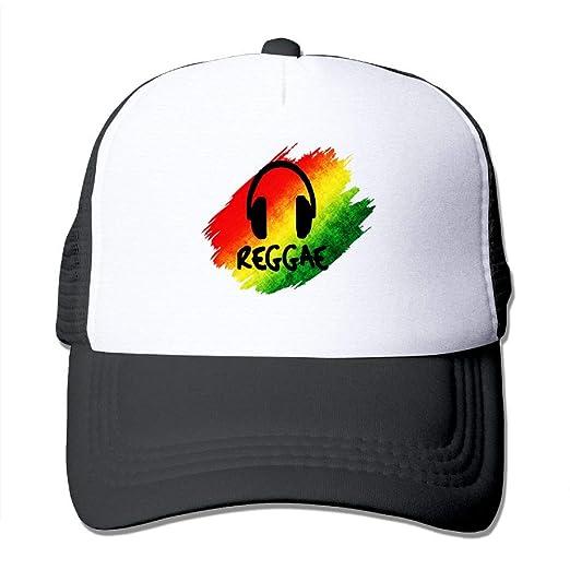 2b6c3146 Amazon.com: Mesh Baseball Caps Reggae Music Jamaica Rasta Trucker ...
