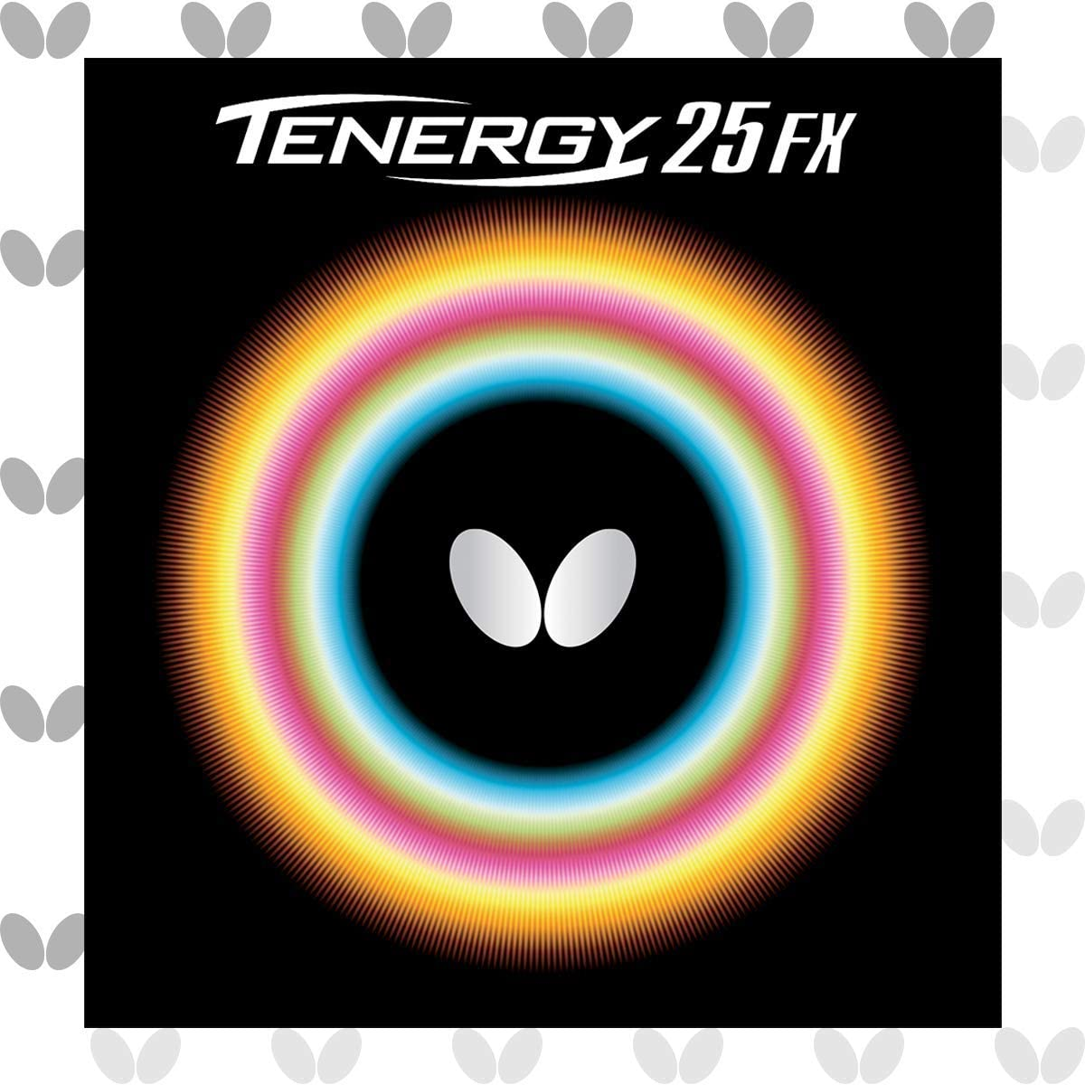 Butterfly Mariposa Tenergy 25FX Tenis de Mesa Caucho