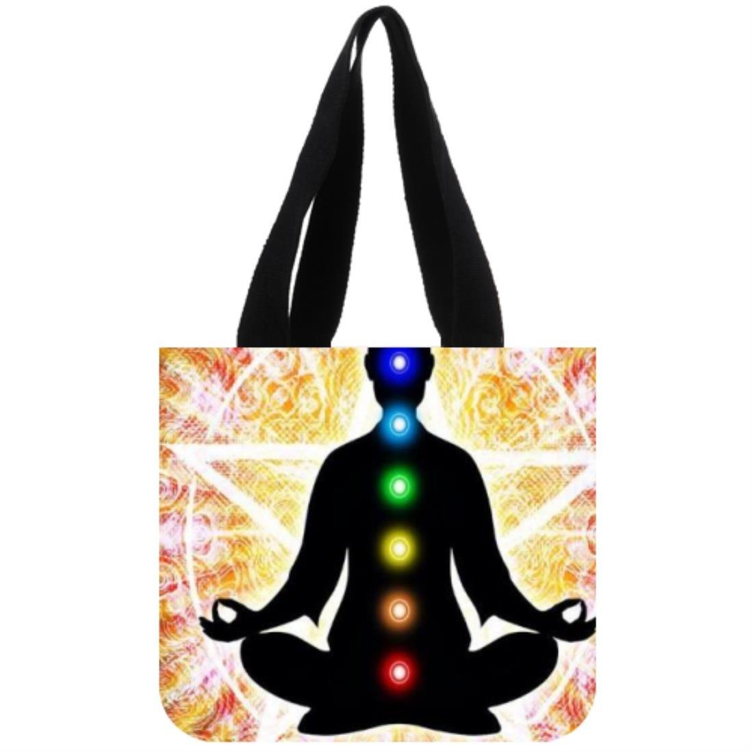 Buda Yoga Lienzo Bolso Tote Bag - Bolsa de la compra (dos ...