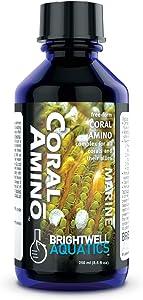 Brightwell Aquatics CoralAmino - Amino Acid Complex for Coral Coloration & Growth, 250ml