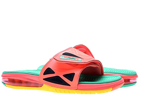 1242881f80b216 NIKE Air Lebron 2 Slide Elite Mens Flip Flops 578251-838 Bright Mango 13 M