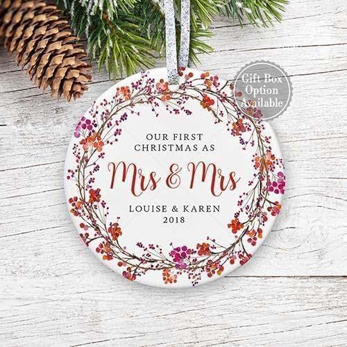 Christmas Ornament Wedding Gift
