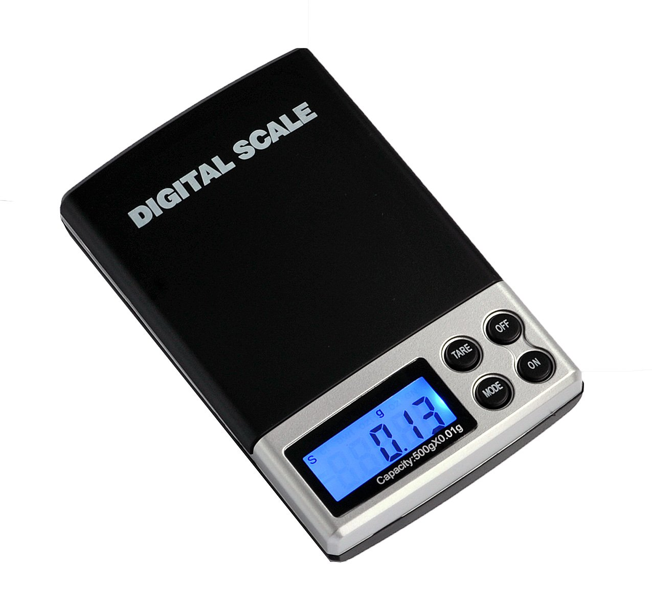 Pocket Scale, 2000 g by 0.1 g or 4.4 lb by 0.01 oz Linghan DS-01