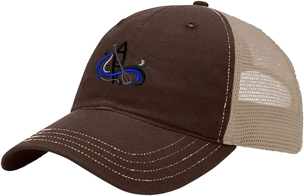 Custom Trucker Hat Richardson Sport Canoeing Logo Embroidery Team Name Cotton