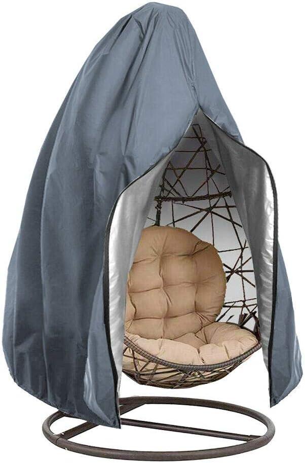 Silla para colgar al aire libre con diseño de huevo